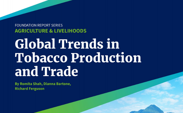 Global Trends in Tobacco Production and Trade