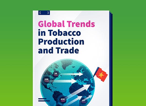 Tendencias globales en la producción y comercio de tabaco