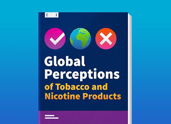 Percepciones globales de los productos de tabaco y nicotina