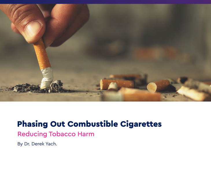 Phasing Out Combustible Cigarettes