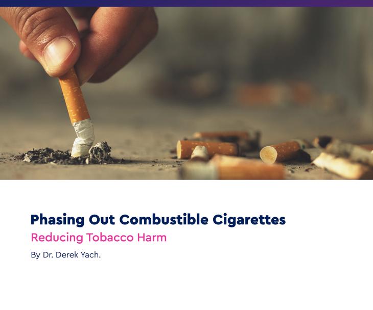 التخلص التدريجي من السجائر القابلة للاحتراق