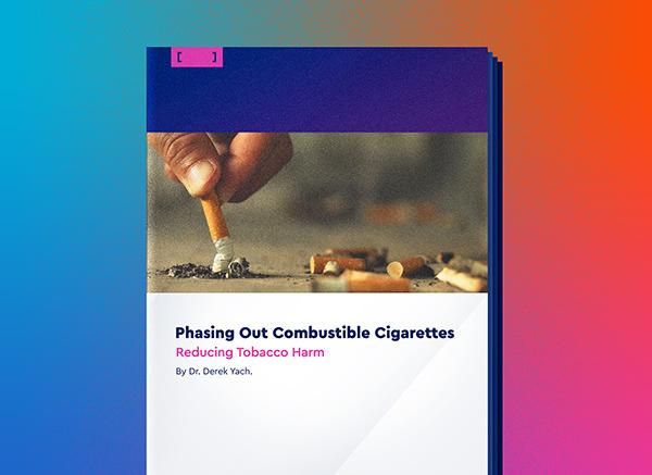 Eliminación gradual de los cigarrillos combustibles
