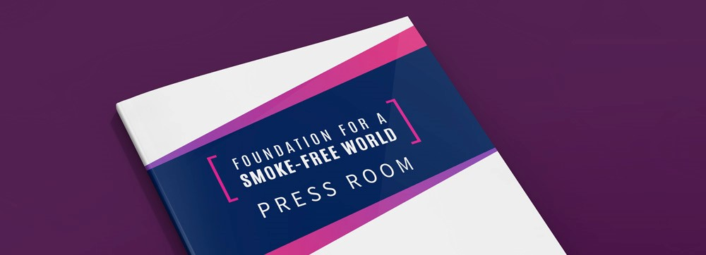 The Foundation for a Smoke-Free World Press Room